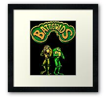 Battletoads (NES) Framed Print