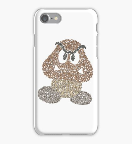 """Goomba"" - Bad Mushroom in Mario Bros iPhone Case/Skin"