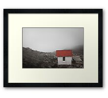 One Room in a Fog Framed Print
