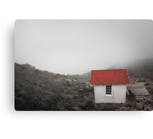 One Room in a Fog Canvas Print
