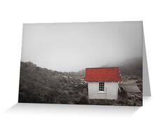 One Room in a Fog Greeting Card