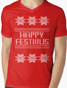 Happy Festivus! Mens V-Neck T-Shirt