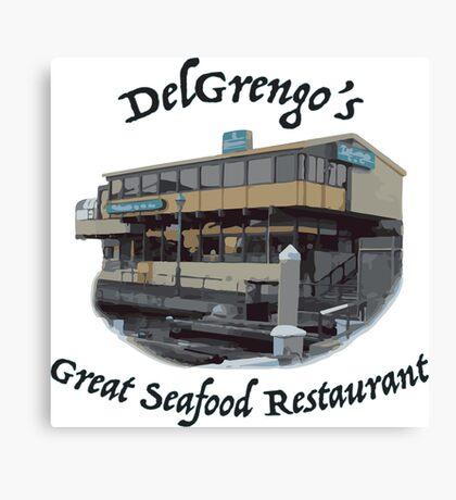 DelGrengo's Great Seafood Restaurant Canvas Print