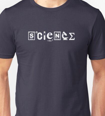 Scientific Symbols Science Unisex T-Shirt