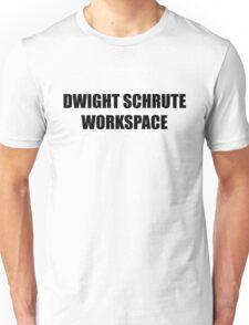 Dwight Schrute Workspace  Unisex T-Shirt
