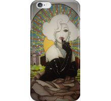 Drawing of Jinkx Monsoon iPhone Case/Skin