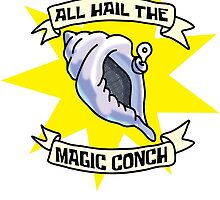 All Hail the Magic Conch by gnarlynicole