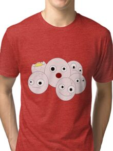 Silly Exeggcute Tri-blend T-Shirt