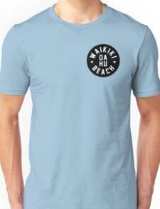 Waikiki beach - Honolulu - Oahu - Hawaii Unisex T-Shirt