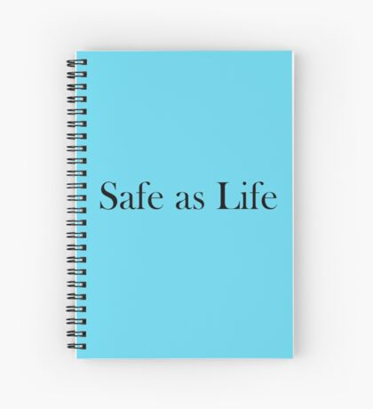 The Raven Cycle - Safe as Life Spiral Notebook