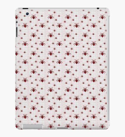 Black Window Spiders iPad Case/Skin