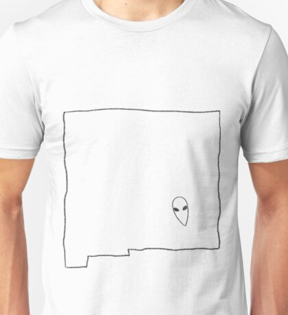 Roswell, New Mexico -- Alien State Unisex T-Shirt
