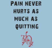 Pain Never Hurt as Much as Quitting - Trainer by mile24