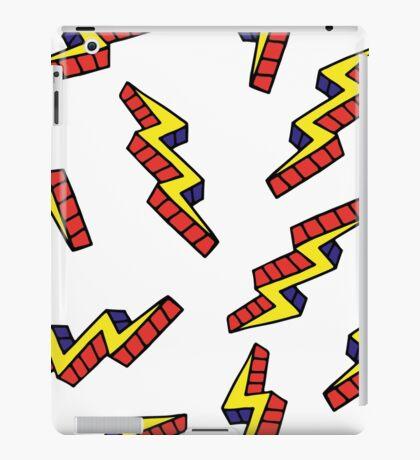 Pop art thunderbolts iPad Case/Skin
