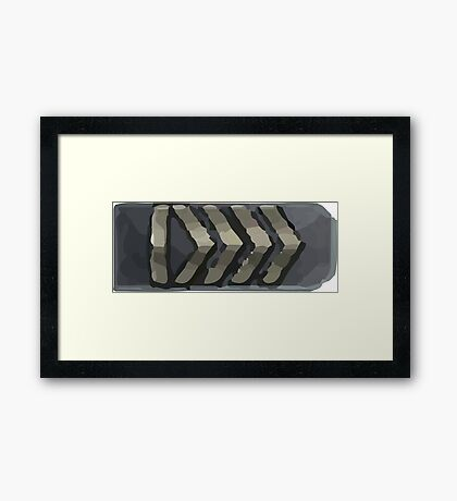 Silver elite Framed Print