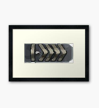 Silver elite master Framed Print