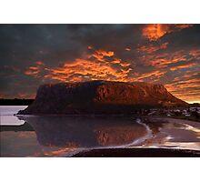 The Nut @ Sunset Stanley Tasmania Australia  Photographic Print