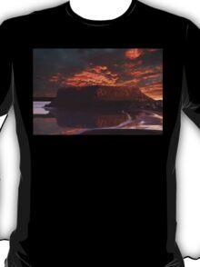 The Nut @ Sunset Stanley Tasmania Australia  T-Shirt