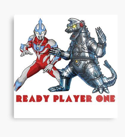 Ready Player One Mech Ultra Metal Print
