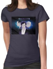 Sherlock - Dark Womens Fitted T-Shirt