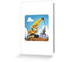 Claw Crane Greeting Card