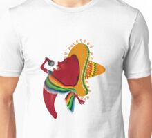 Red chili pepper singing Unisex T-Shirt