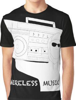 Wireless Music Graphic T-Shirt