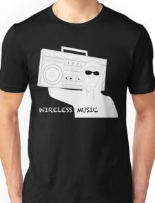 Wireless Music Unisex T-Shirt