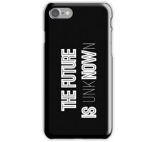 Black & White Future iPhone Case/Skin