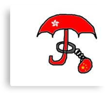 Imprisoned Umbrella Canvas Print