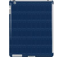 TARDIS Blueprint - Doctor Who iPad Case/Skin