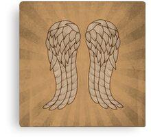 Daryl Wings Canvas Print