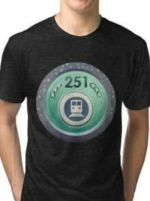 Glitch Achievement commuter mug Tri-blend T-Shirt