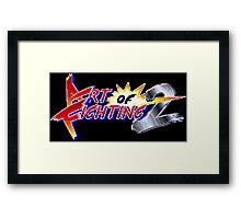 Art of Fighting 2 (Neo Geo Title Screen) Framed Print