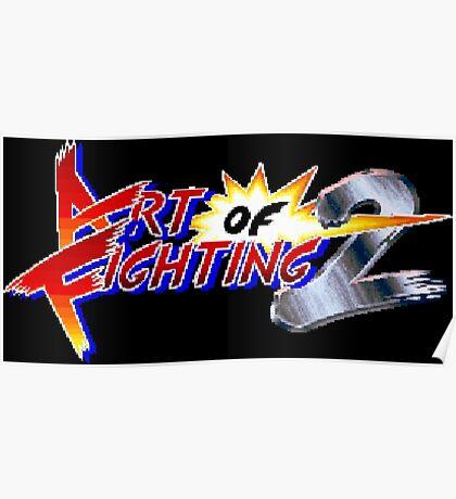 Art of Fighting 2 (Neo Geo Title Screen) Poster