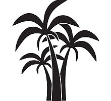 Palm Trees Graphic by WillPayne