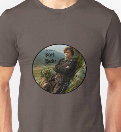 I'll have a Scot on the rocks Unisex T-Shirt