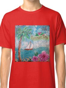 Summertime by Jan Marvin Classic T-Shirt