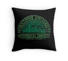 Miskatonic Historical Society Throw Pillow