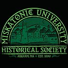 Miskatonic Historical Society by vonplatypus