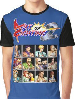Art of Fighting 2 (Neo Geo Character Lineup) Graphic T-Shirt