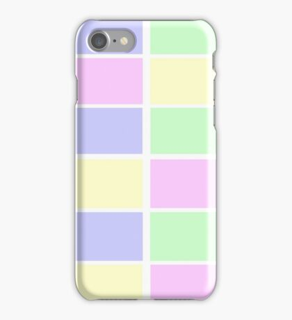 Geometric Pastel iPhone Case/Skin