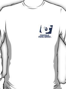Ponyville Postal Service (Work Shirt) T-Shirt