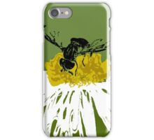 Stenciled Bee iPhone Case/Skin