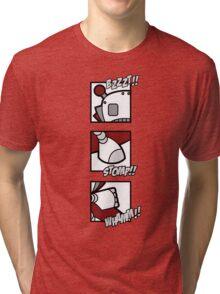 Bzzzt... whaam... stomp Tri-blend T-Shirt