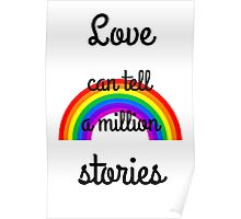 Love can tell a million stories Poster