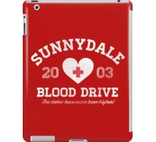 Sunnydale Blood Drive iPad Case/Skin