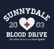 Sunnydale Blood Drive One Piece - Long Sleeve