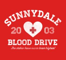 Sunnydale Blood Drive Kids Tee