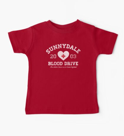 Sunnydale Blood Drive Baby Tee